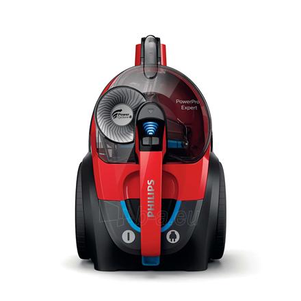 Dulkių siurblys Philips Vacuum cleaner PowerPro Expert FC9729/09 900 W, Bagless, 2 L, 67 dB, Black/Red Paveikslėlis 4 iš 5 310820224690