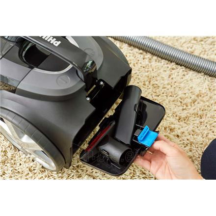 Dulkių siurblys Philips Vacuum cleaner PowerPro Expert FC9729/09 900 W, Bagless, 2 L, 67 dB, Black/Red Paveikslėlis 5 iš 5 310820224690
