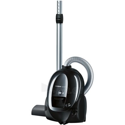 Vacuum cleaner Siemens VS01E1550 Vacuum cleaner,Telescopic Tube, 3l dust capacity, Working Radius 8 m, 1550 W, Black Paveikslėlis 1 iš 1 250120100945