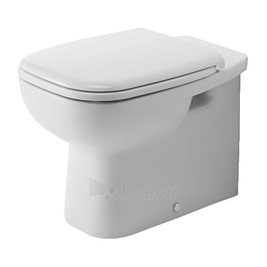 Duravit D-Code actable toilet 35,5x56 Paveikslėlis 1 iš 4 270713000453