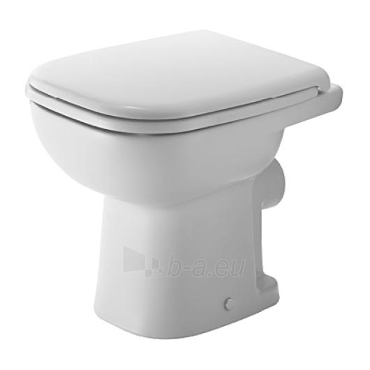 Duravit D-Code actable toilet 35x48 Paveikslėlis 1 iš 4 270713000454