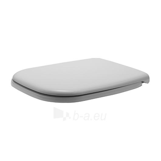 Duravit D-Code wc sėdynė su dangčiu SoftClose Paveikslėlis 1 iš 1 270750000219