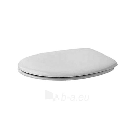Duravit Duraplus WC cover with SoftClose funkcija Paveikslėlis 1 iš 1 270713000747