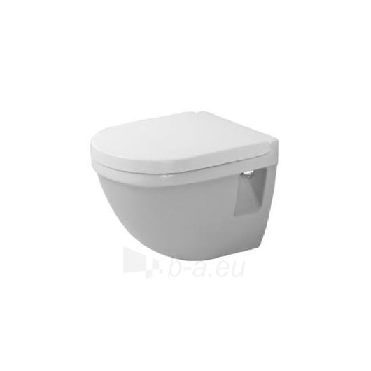 Duravit withspended WC pot Compact Starck3 Paveikslėlis 2 iš 2 270713000753