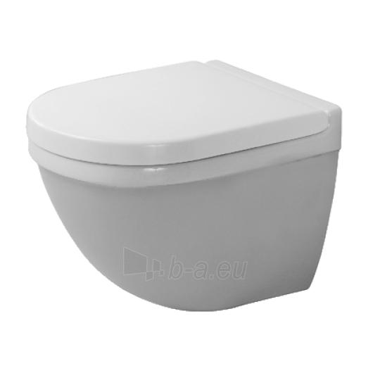 Duravit Starck3 hanging toilet Compact Paveikslėlis 1 iš 4 270713000464