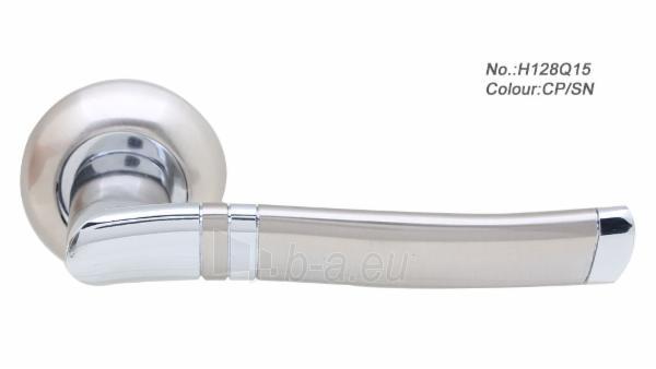 Durų rankena H128Q15 chromas/metalic Paveikslėlis 1 iš 1 310820022435