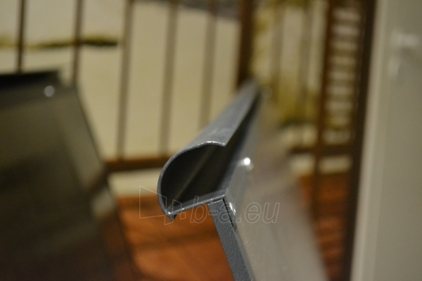 Durvju jumtiņš STARKEDACH ARKA 160x100x35 cm. Pelēks rāmis. Caurspīdīgs pārklājums. Paveikslėlis 2 iš 2 237970000052