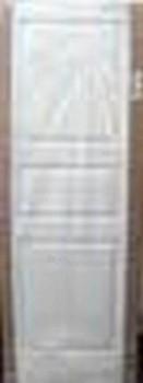 Doors Monte Moderna 70-3 entry solid wood, primed, white Paveikslėlis 1 iš 1 237930400043