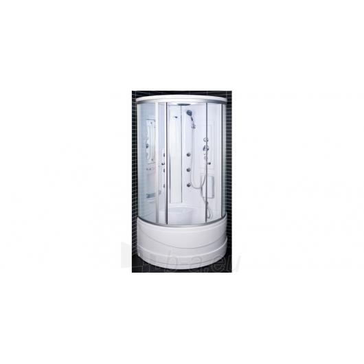 Duschy shower ketursienė su masažu 103x103х217cm LED Paveikslėlis 4 iš 4 310820079114