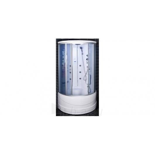 Duschy masažuojanti garo kabina 103x103x217 cm LED Paveikslėlis 9 iš 9 310820079118