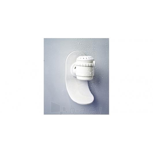Duschy masažuojanti garo kabina tonuota 103x103x217 cm LED Paveikslėlis 6 iš 9 310820079117