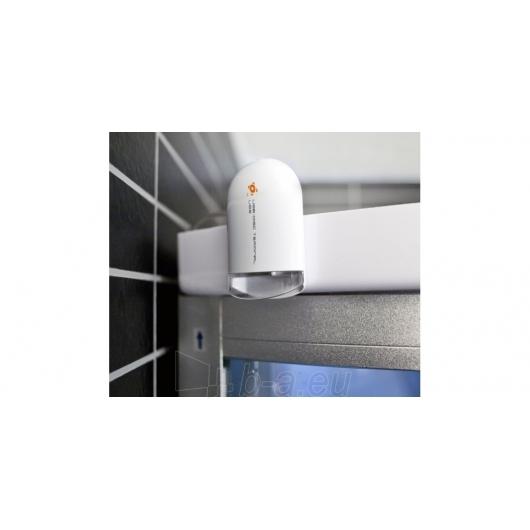 Duschy masažuojanti garo kabina tonuota 103x103x217 cm LED Paveikslėlis 7 iš 9 310820079117