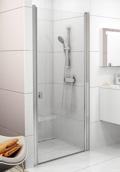 Dušo durys Ravak Chrome CSD1-90 balta/Transparent Paveikslėlis 1 iš 3 270770000107