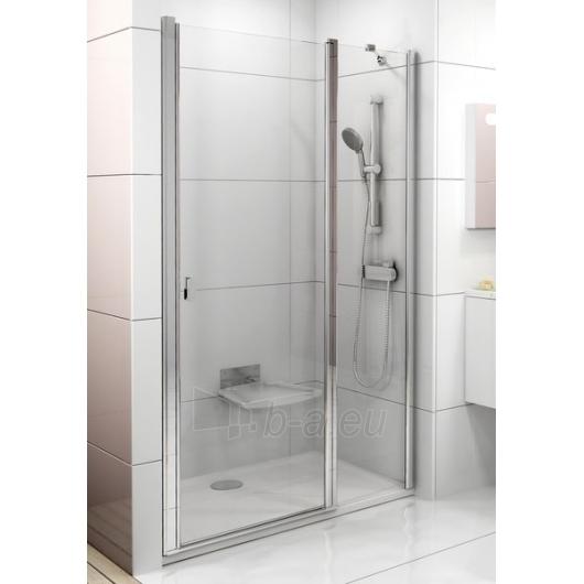 Dušo durys Ravak Chrome CSD2-100 satin/Transparent Paveikslėlis 1 iš 3 270770000112