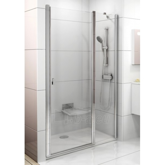 Dušo durys Ravak Chrome CSD2-120 blizgi/Transparent Paveikslėlis 1 iš 3 270770000117