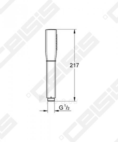 Dušo galva GROHE Grandera™ Stick Paveikslėlis 2 iš 2 270721000625