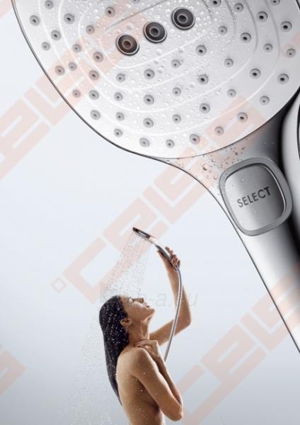 Dušo galva HANSGROHE Raindance Select E120 3jet EcoSmart Paveikslėlis 4 iš 7 270721000659