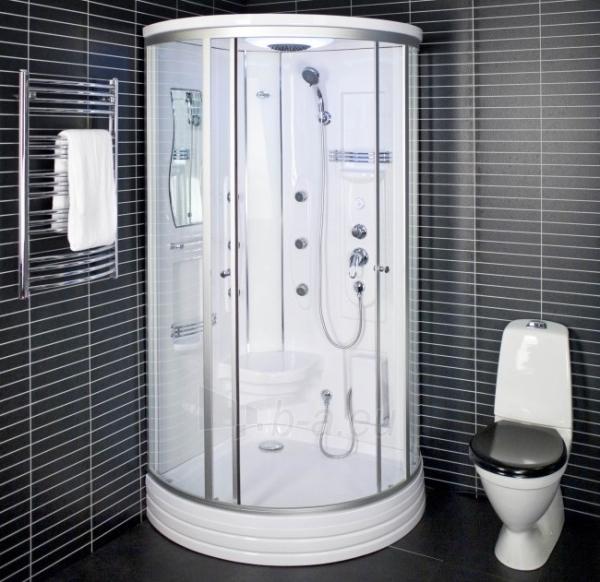 Dušo kabina Duschy ketursienė su masažu 103x103x217cm LED Paveikslėlis 1 iš 6 310820217376