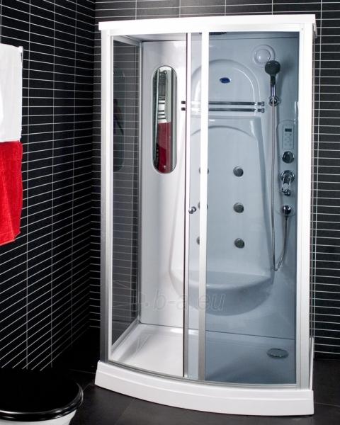 Dušo kabina Duschy ketursienė su masažu 115x85x217cm LED Paveikslėlis 1 iš 5 310820217379