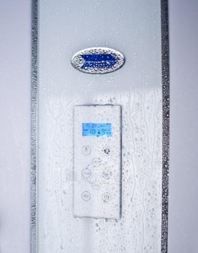 Dušo kabina Duschy ketursienė su masažu 115x85x217cm LED Paveikslėlis 3 iš 5 310820217379