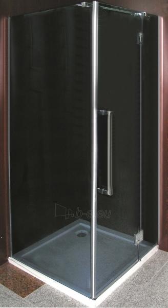 Dušo kabina F90HY grey be pado (tik stiklai) Paveikslėlis 2 iš 2 270730000986