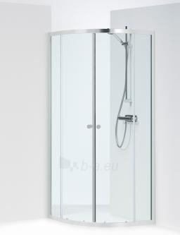 Shower enclosures IFO SILVER KVARTSRUND 90x90 pusapvalė Paveikslėlis 12 iš 15 270730000631