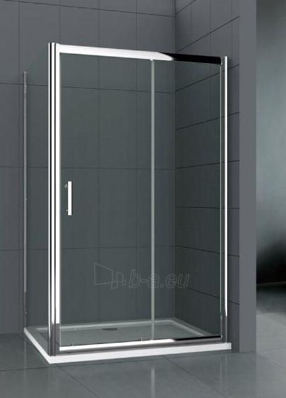 Shower enclosures L12090DY grey be pado (tik stiklai) Paveikslėlis 2 iš 2 270730000955