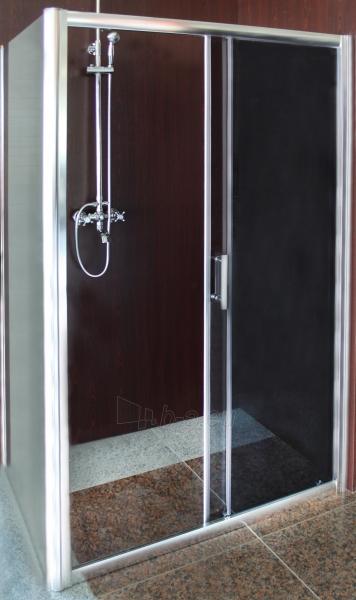 Shower enclosures L12090DY grey be pado (tik stiklai) Paveikslėlis 1 iš 2 270730000955