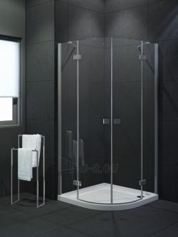Dušo kabina NEW TRENDY ELEGANTA 90, skaidrus stiklas Paveikslėlis 1 iš 2 270730001172