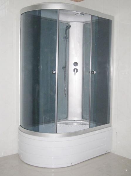 Dušo kabina R8106 dešinė grey/black Paveikslėlis 3 iš 3 270730000788