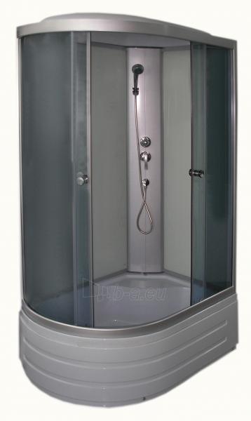 Shower enclosures R8106 right grey/white Paveikslėlis 1 iš 11 270730000789