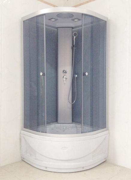 Dušo kabina R8804B grey/white Paveikslėlis 5 iš 8 270730000795