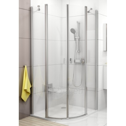 Shower enclosures Ravak Chrome CSKK4-80 satin/Transparent Paveikslėlis 1 iš 3 270730000678