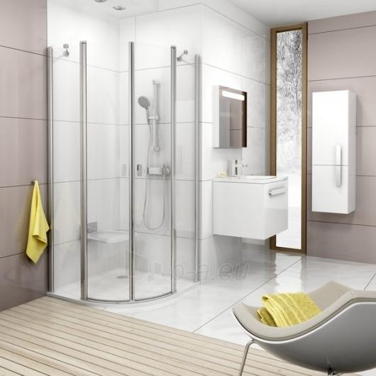 Shower enclosures Ravak Chrome CSKK4-80 satin/Transparent Paveikslėlis 2 iš 3 270730000678