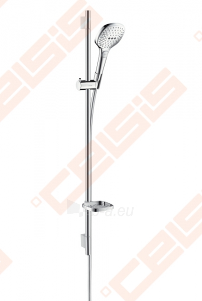 Dušo komplektas HANSGROHE Raindance Select E 120 3jet EcoSmart 9l/min /Unica S Puro 0,90 m Paveikslėlis 1 iš 4 270721000727