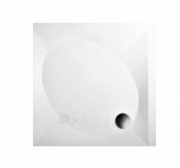 Dušo padėklas PAA ART 100x100 su panele ir kojelėmis, pilkas (radius 550) Paveikslėlis 1 iš 1 270780000376