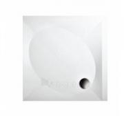Dušo padėklas PAA ART 100x100 su panele ir kojelėmis, pilkas Paveikslėlis 1 iš 1 270780000378