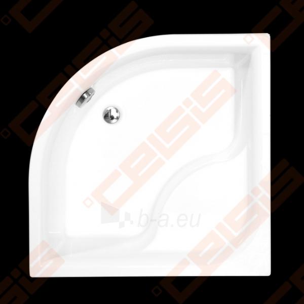 Dušo padėklas ROLTECHNIK VIKI LUX 90x90, iš supresuotų sluoksnių su GREENSIR laikikliu (radius 550) Paveikslėlis 1 iš 2 270780000496