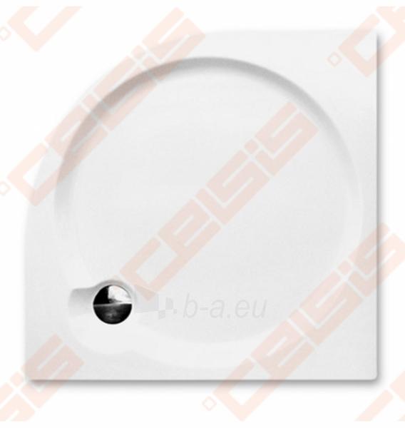 Dušo padėklas SANIPRO Dream-P 80x80 cm, iš supresuotų sluoksnių su GREENSIR laikikliu (radius 550) Paveikslėlis 2 iš 5 270780000499