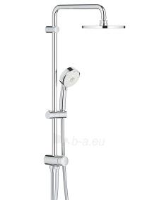 Dušo sistema NTempesta Cosmopolitan 200 (stac.galva* Ø200, alkūnė 390mm, rankinis dušas) be maišytuvo, chromas Paveikslėlis 1 iš 2 310820165726