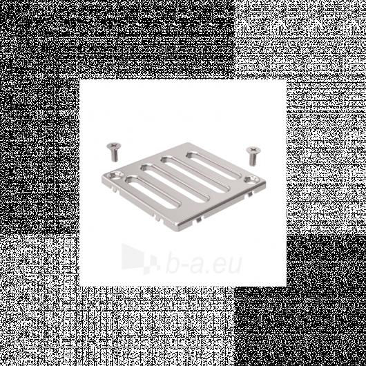 Dušo trapo grotelės. 8 x 8 cm dydžio, storis 0,4 cm Paveikslėlis 3 iš 3 270790000108