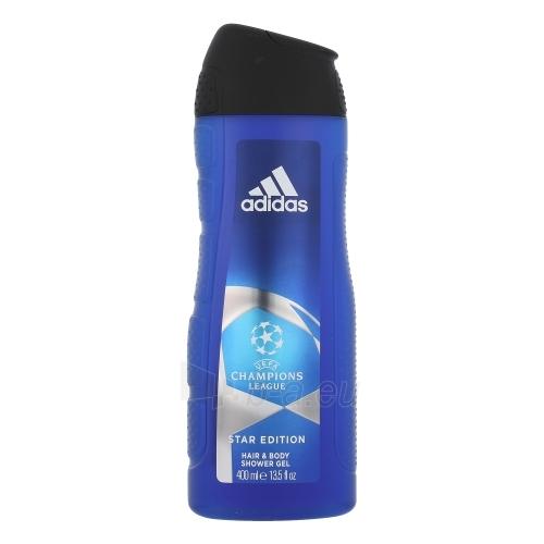 Shower gel Adidas UEFA Champions League Star Edition Shower gel 400ml Paveikslėlis 1 iš 1 2508950001090