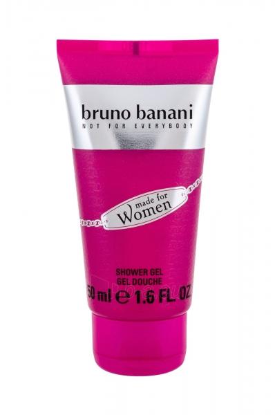 Dušo želė Bruno Banani Made For Woman Shower Gel 50ml Paveikslėlis 1 iš 1 310820165526