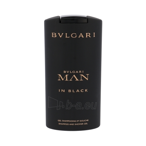 Dušo želė Bvlgari Man In Black Shower gel for Men 200ml Paveikslėlis 1 iš 1 2508950001047