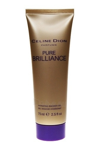 Shower gel Celine Dion Pure Brilliance Shower gel 75ml Paveikslėlis 1 iš 1 2508950000615