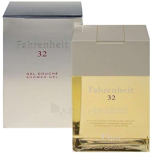 Shower gel Christian Dior Fahrenheit 32 Shower gel 150ml Paveikslėlis 1 iš 1 2508950000130