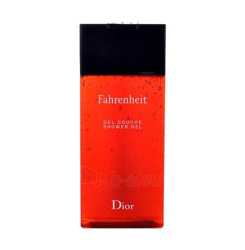 Dušas želeja Christian Dior Fahrenheit 150ml (pažeista pakuotė) Paveikslėlis 1 iš 1 2508950000538
