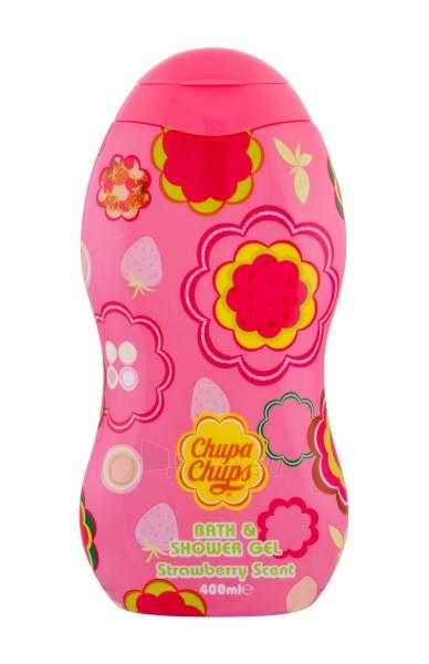Dušo želė Chupa Chups Strawberry Scent Shower Gel 400ml Paveikslėlis 1 iš 1 310820165613
