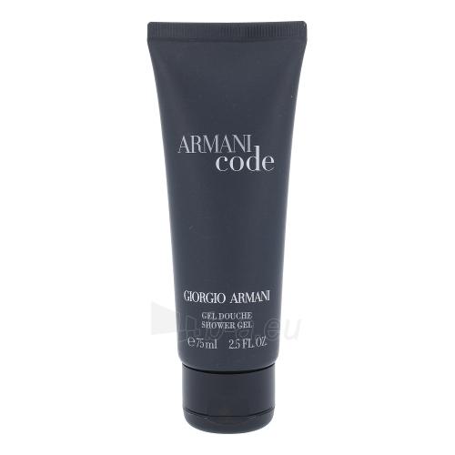 Dušas želeja Giorgio Armani Black Code Shower gel 75ml Paveikslėlis 1 iš 1 310820037738