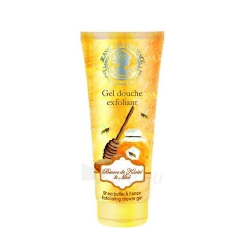 Dušo žele Jeanne En Provence Peeling shower gel (Exfoliating Shower Gel) 200 ml Paveikslėlis 1 iš 1 310820107606
